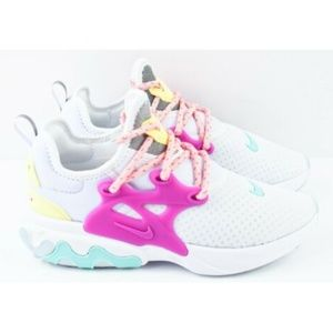Nike React Presto Womens Sz 5 Running Shoes CD9015
